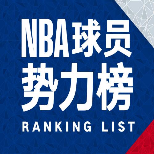 NBA球员势力榜