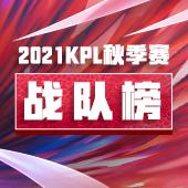 2021KPL秋季赛战队榜
