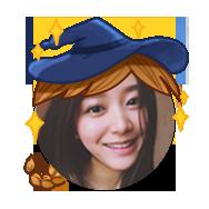 头像挂件:女巫帽子